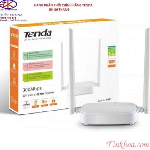 N301- Bộ thu phát Wifi Tenda N301 300Mbps.
