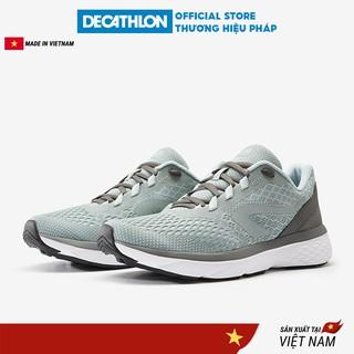 Giày thể thao nữ DECATHLON Kalenji Run Support giảm chấn dành cho chạy bộ - kaki thumbnail