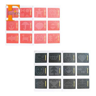 👑Drawing Games Toys For Kids Magnetic Tablet Magnet Pad Black