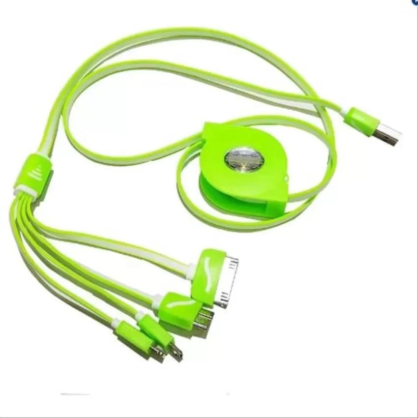 Cáp sạc điện thoại 4 đầu đa năng dây rút dài 1m XLC - 9945847 , 347580468 , 322_347580468 , 98000 , Cap-sac-dien-thoai-4-dau-da-nang-day-rut-dai-1m-XLC-322_347580468 , shopee.vn , Cáp sạc điện thoại 4 đầu đa năng dây rút dài 1m XLC