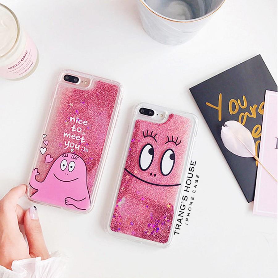 Ốp Lưng Iphone Glitter BARBAPAPA