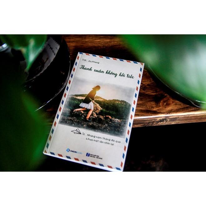 Cuốn sách Thanh Xuân Không Hối Tiếc - Tác giả: Du Phong