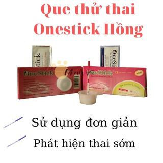 Que thử thai OneStick Hồng thumbnail