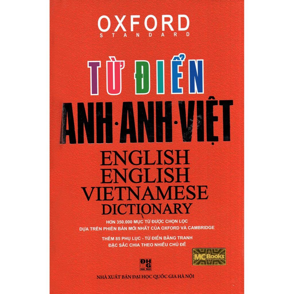 [ Sách ] Từ Điển Anh - Anh - Việt (Bìa Cứng Đỏ )