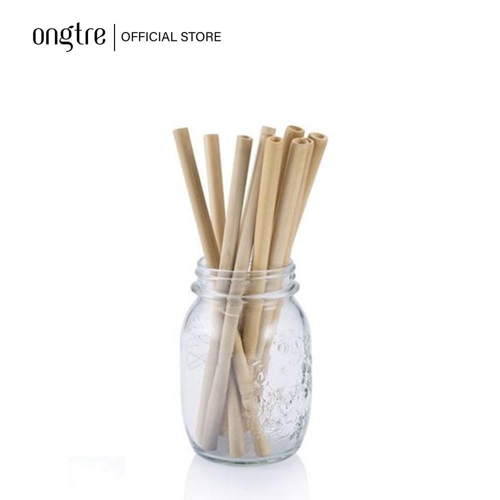 Bộ 10 ống hút tre 20cm - Giải pháp thay thế ống nhựa | www.ongtre.vn