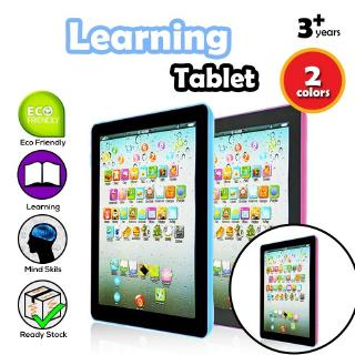 Baby Tablet Pad Computer Kid Children Educational English Learning Pad Toy