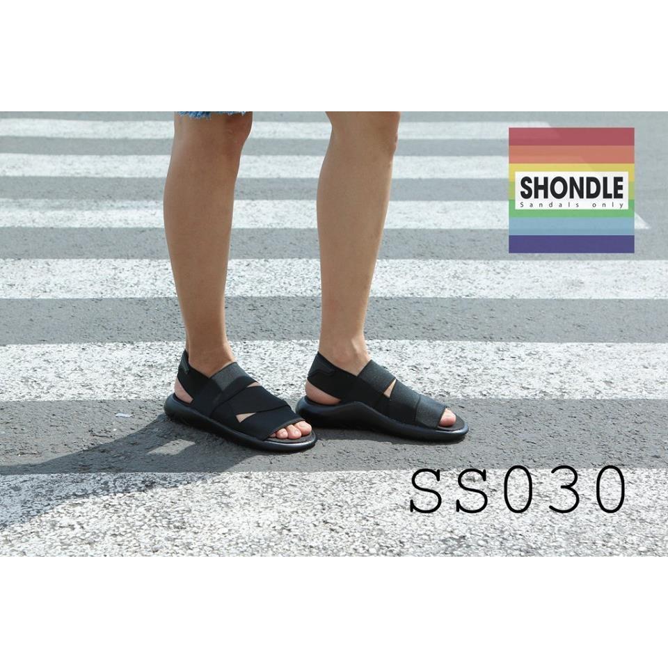 Sandal Y3 Full đen - SS030