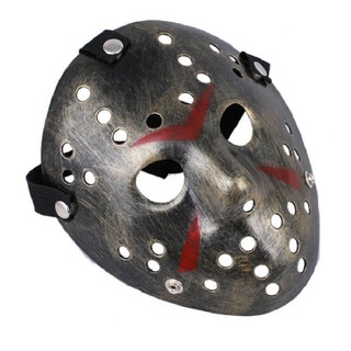 Mặt nạ Jason hóa trang Halloween leegoal Màu Bạc Lỗ tròn-s91