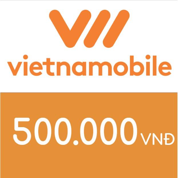 Nạp điện thoại Vietnamobile 500K