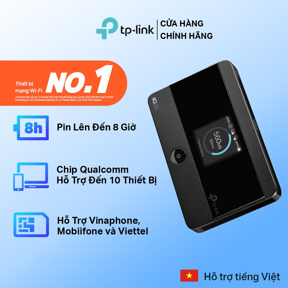 TP-Link Bộ phát wifi di động 4G LTE - M7350