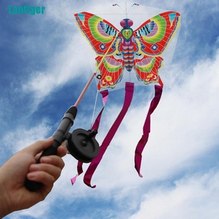 【Lanfiger】Outdoor Kites Butterfly Flying Kite Children Kids Fun Sports Toys