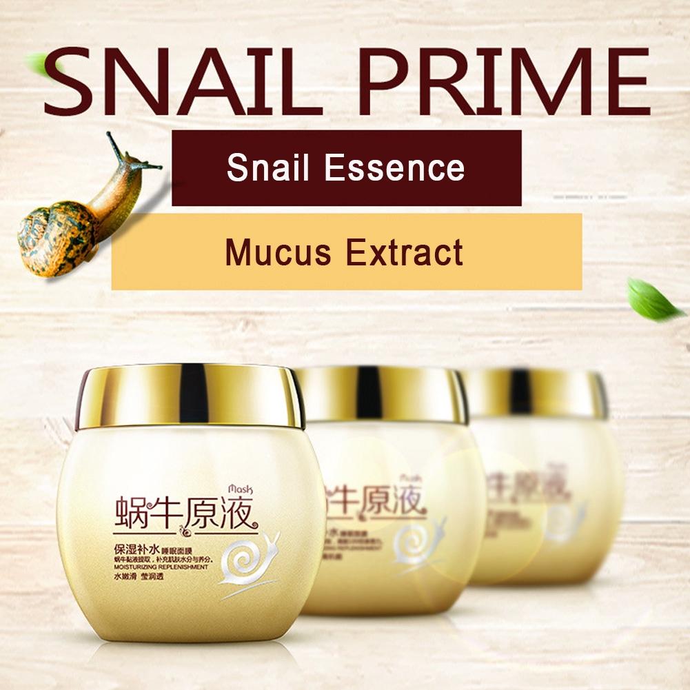 Moisturizing Brightening Sleeping Mask Skin Care Cream Essence Night