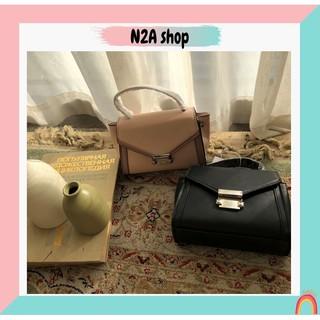 Túi xách nữ THANH LÝ [có sẵn + ảnh thật] Túi da Pu khóa bạc N2a shop