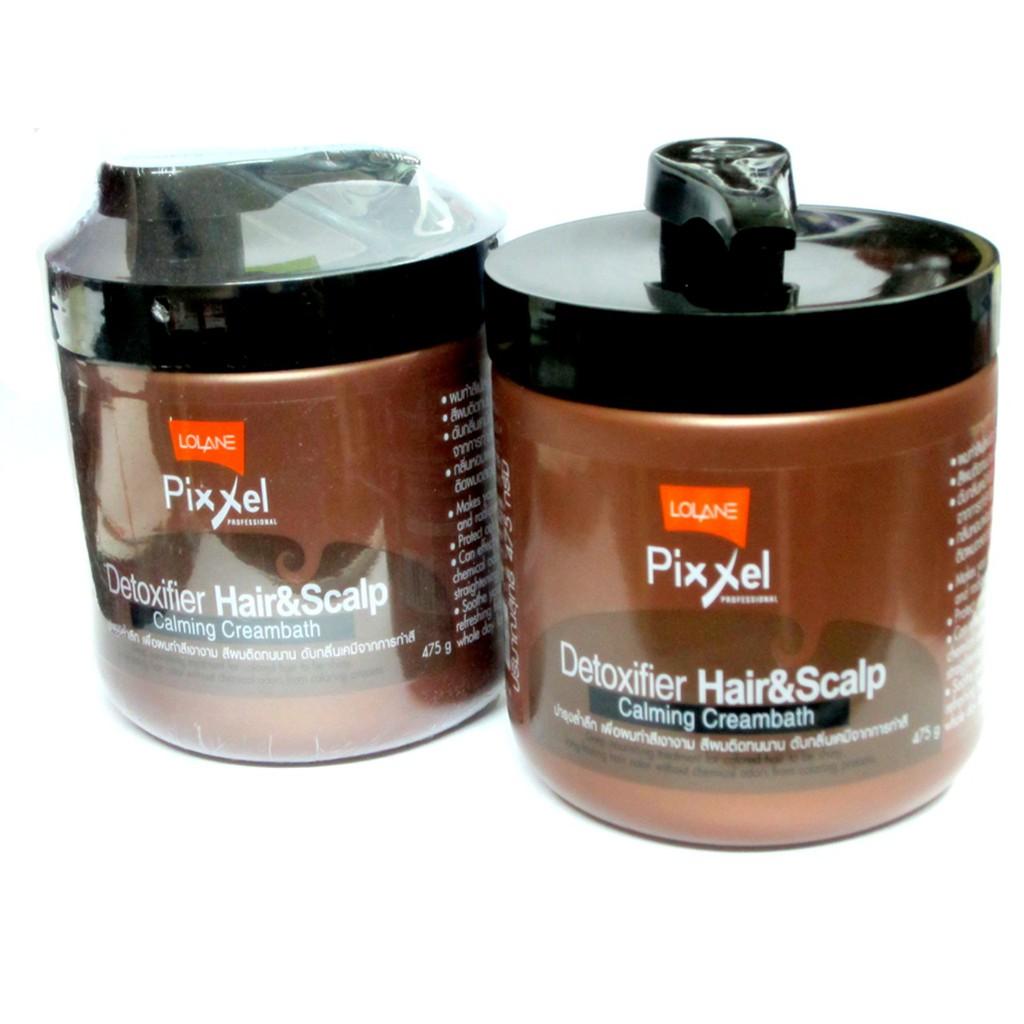 Ủ tóc cho tóc hư tổn LOLANE PIXXEL 475G từ Thái Lan