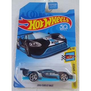 Xe mô hình Hot Wheels '16 Ford GT Race FKB38 Kroger