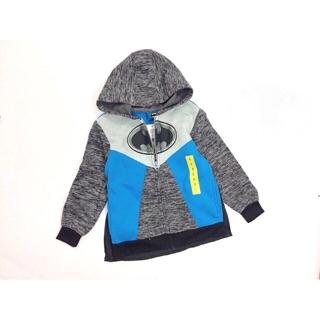 Áo khoác nỉ bé trai hình Batman kèm áo choàng thumbnail