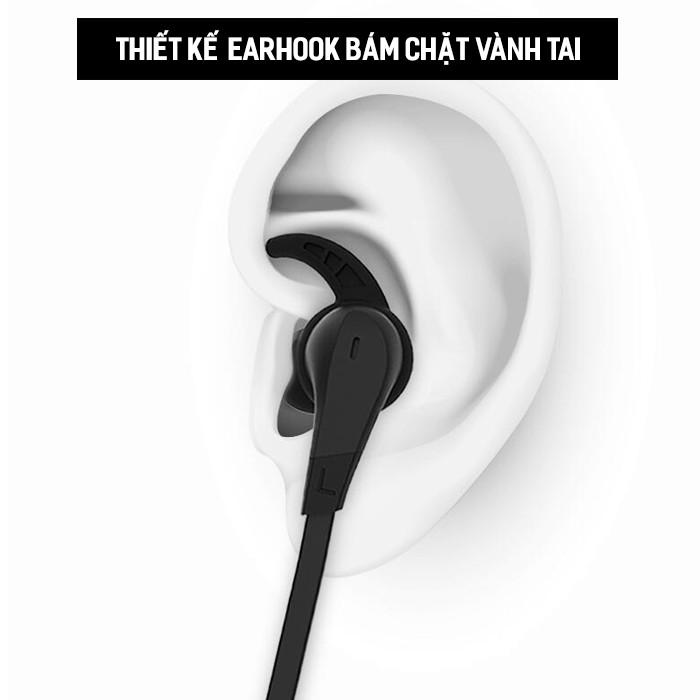 Tai nghe bluetooth Remax RB-S25 choàng cổ thiết kế kiểu earhook