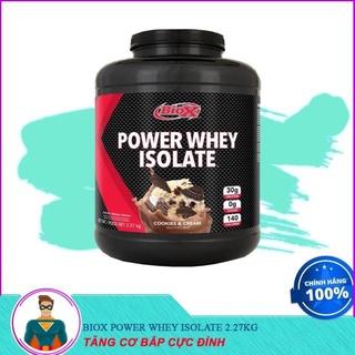 [XẢ KHO] Sữa Dinh Dưỡng Tăng Cơ Bắp BIOX POWER WHEY ISOLATE 2.27KG thumbnail
