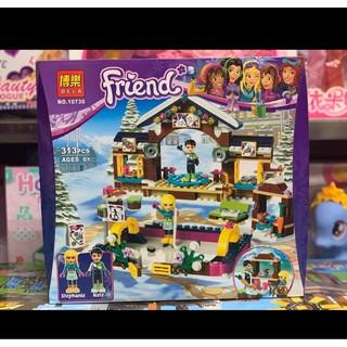 Đồ chơi xếp hình lắp ghép BELA Friend 10730 – Stephanie và những người bạn