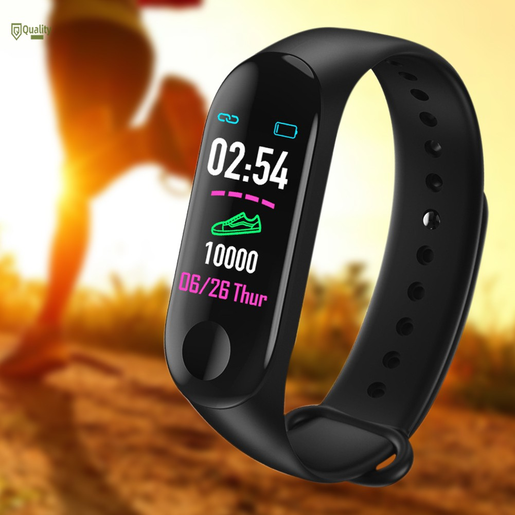 TH♥ Smart Watch Bracelet Wristband Blood Pressure HeartRate Monitor Fitness Tracking