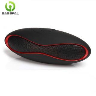 Tai Nghe Basspal X6 Bluetooth Không Dây Nhỏ Hỗ Trợ Thẻ TF USB Đài FM