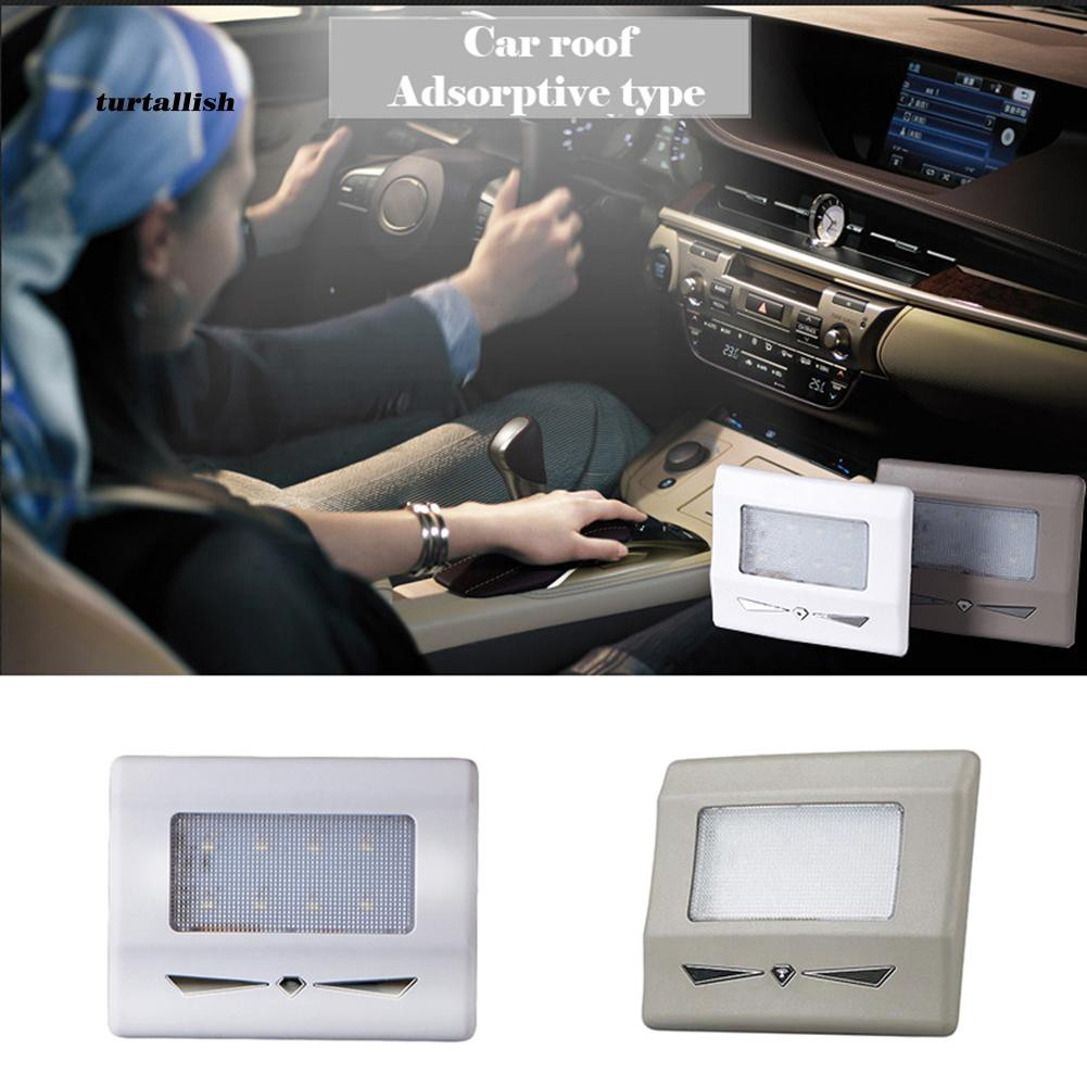 TUR♥Auto Car Interior USB Charging LED Roof Dome Ceiling Reading Light Trunk Lamp