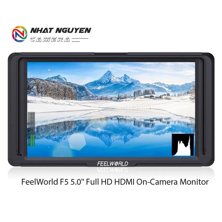 Màn hình FEELWORLD F5 5 Inch Full HD HDMI - Monitor FeelWorld F5 - Bảo hành 12 tháng