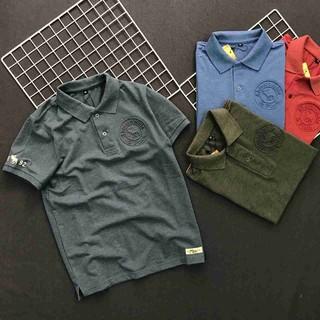 Áo thun nam FREESHIP áo phông có cổ thiết kế ngắn tay cao cấp phong cách lịch lãm Liyorstore – ATCS068