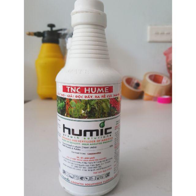 Phân hữu cơ axit humic TNC HUMIC  chai 500ml