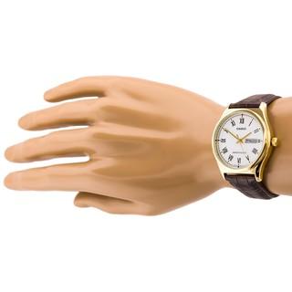 Đồng hồ nam dây da chính hãng Casio Anh Khuê MTP-V006