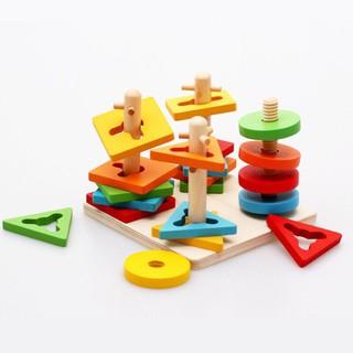 Đồ chơi xếp hình 4 trụ cột