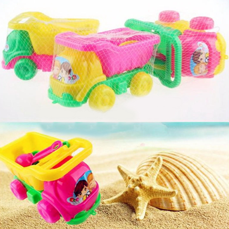 Beach Car Toy Set Truck Shovel Bucket Play Water Sand Tools Kids Toys Set