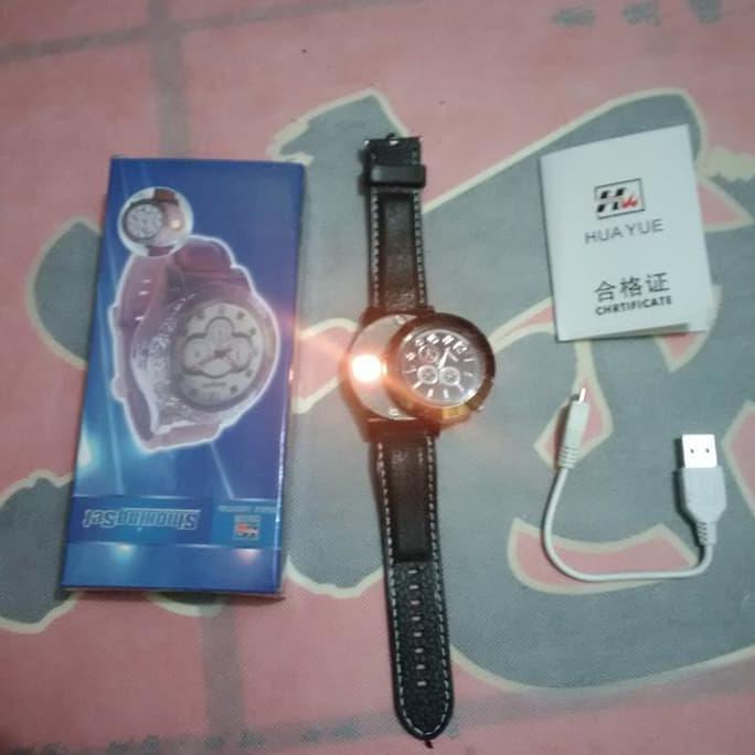 Good Product Jam Tangan Korek Api Usb Elektrik ( Di Charge / Tanpa Isi Gas )