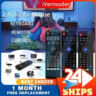 Chuột bay bàn phím thế hệ mới MX3 Pro chuyên dụng cho Box, Smart TV, máy tính thumbnail