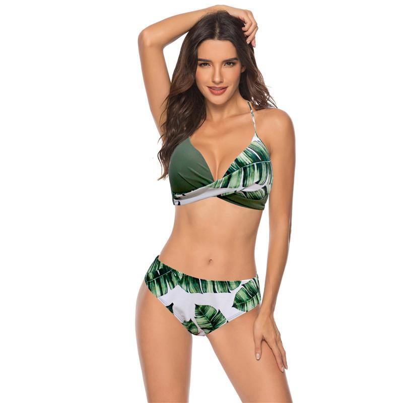 Set bikini hai mảnh có size lớn thời trang quyến rũ cho nữ