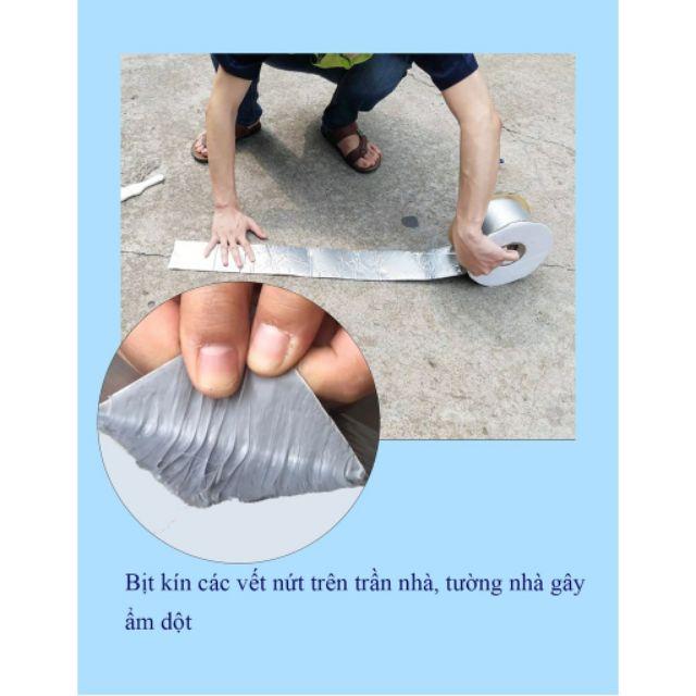 Băng kéo chống thấm cuộn 5m