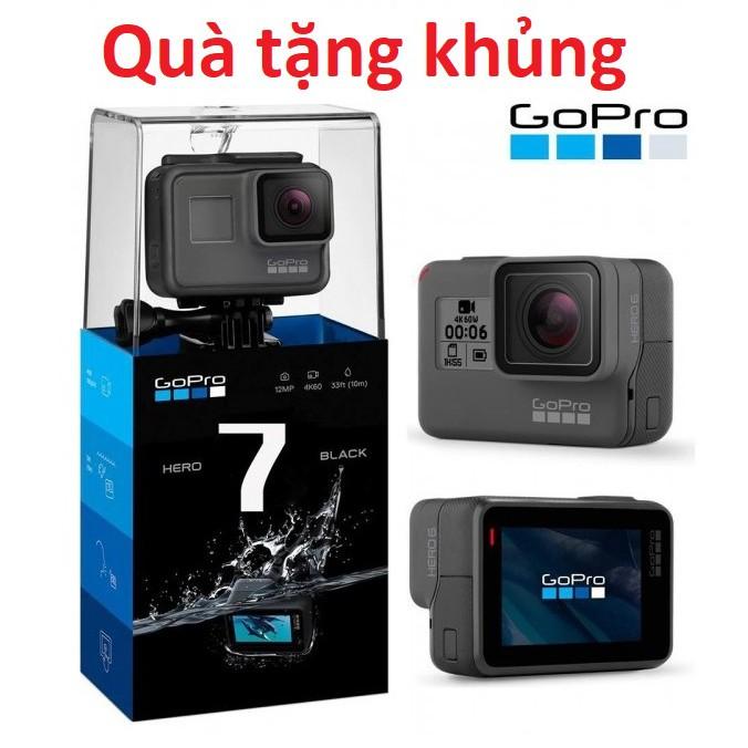 Máy quay Gopro Hero 7 Black-FPT, Tặng thẻ 128GB