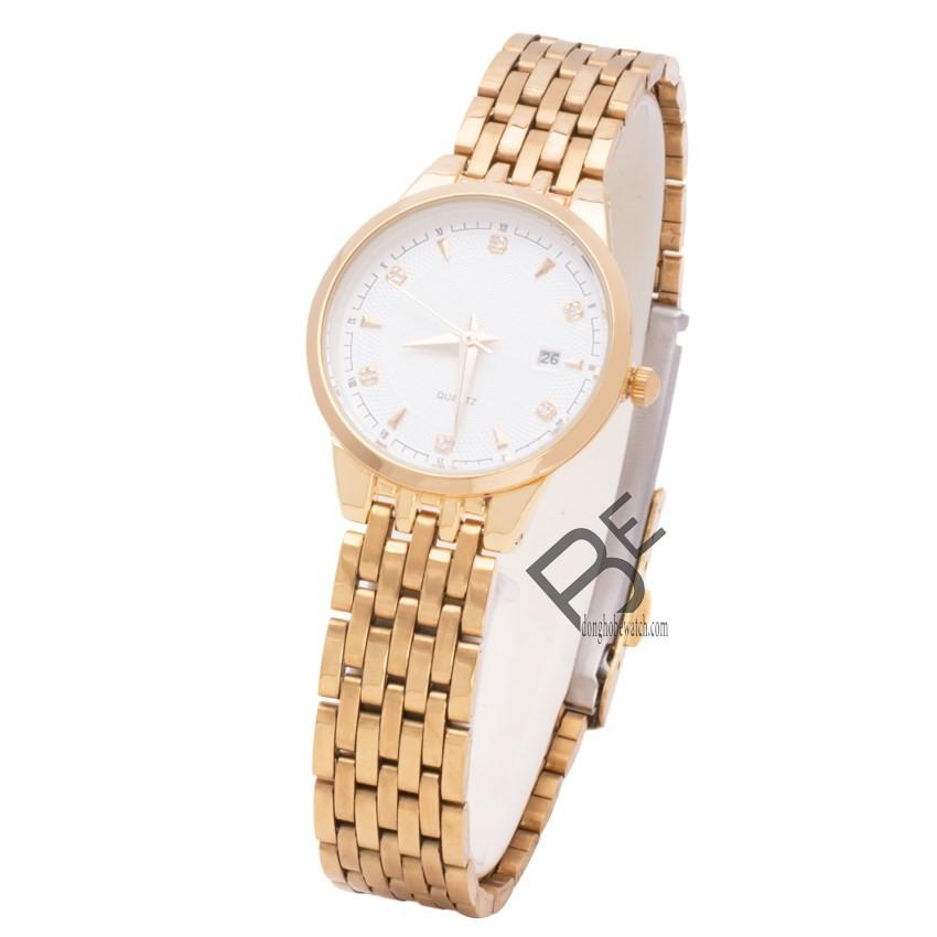 Đồng hồ nữ Baishuns dây kim loại vàng mặt trắng - 2459237 , 101040120 , 322_101040120 , 500000 , Dong-ho-nu-Baishuns-day-kim-loai-vang-mat-trang-322_101040120 , shopee.vn , Đồng hồ nữ Baishuns dây kim loại vàng mặt trắng