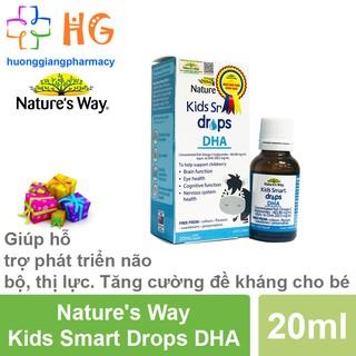 DHA Nature s Way Kids Smart Drops DHA - Giúp hỗ trợ phát triển não bộ, thị lực và tăng đề kháng cho bé (Lọ 20ml) thumbnail
