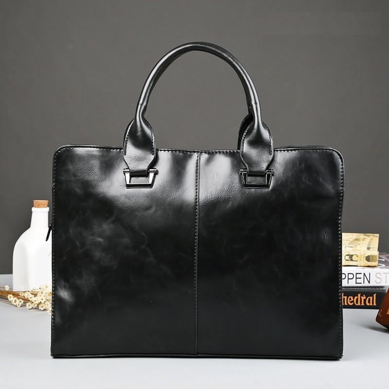 Túi xách cặp da đựng laptop công sở ETONWEAG E9094