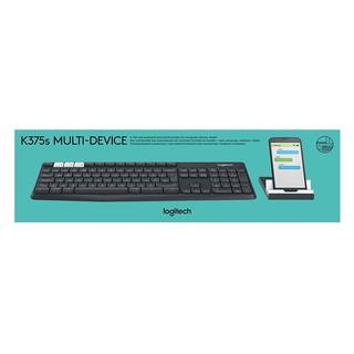 Combo Bàn Phím Bluetooth + Đế Để Điện Thoại Và Tablet Logitech K375s - Hàng Chính Hãng thumbnail