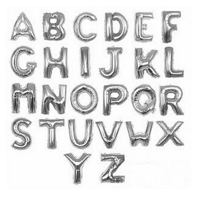 Bóng chữ, số tráng nhôm