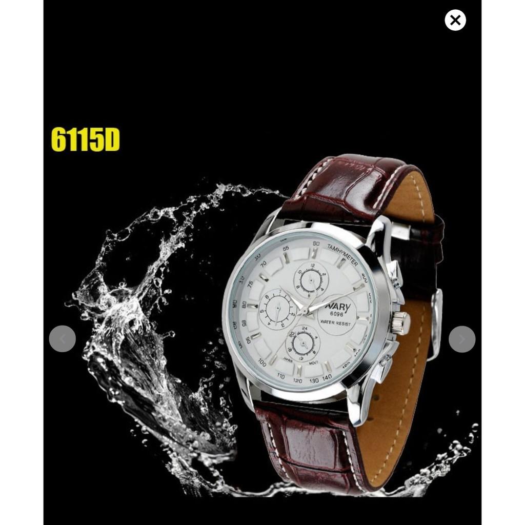 Đồng hồ nam Nary 6096D lịch lãm - đồng hồ nam cao cấp Đồng hồ kim-điện tử