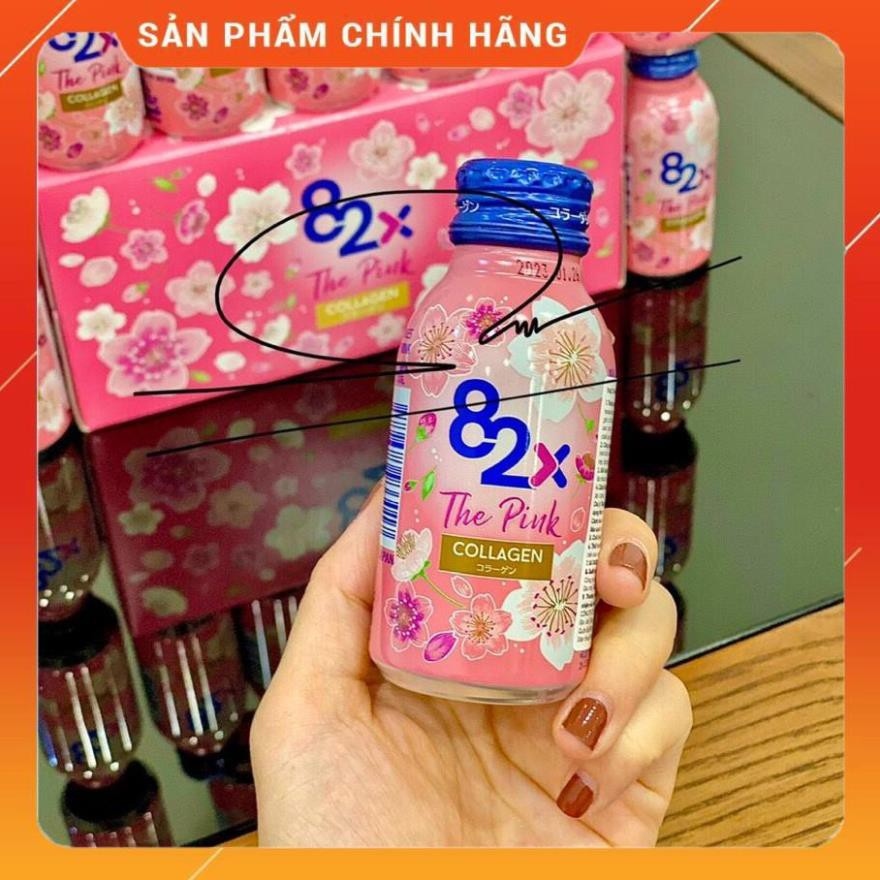 [Chính Hãng] Collagen 82X The Pink Collagen nhật bản, lốc 10 chai