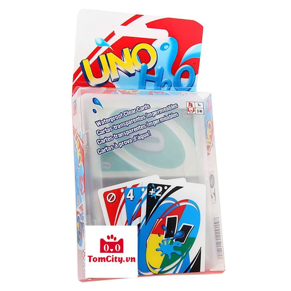 Bài UNO H2O Chống Nước Nhựa PVC VIP