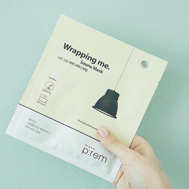Mặt nạ giấy bạc làm trắng da MAKEP:REM WRAPPING ME WHITENING SAUNA - 2740031 , 600462225 , 322_600462225 , 45000 , Mat-na-giay-bac-lam-trang-da-MAKEPREM-WRAPPING-ME-WHITENING-SAUNA-322_600462225 , shopee.vn , Mặt nạ giấy bạc làm trắng da MAKEP:REM WRAPPING ME WHITENING SAUNA