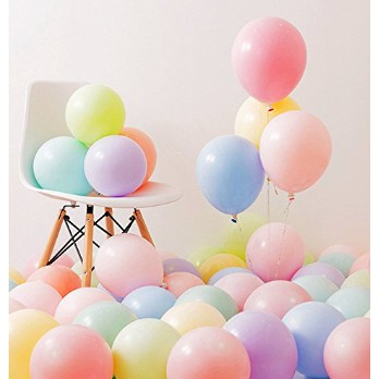 """Bong bóng pastel Macaron siêu hot 9"""" trang trí sinh nhật"""