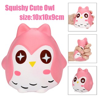 Squeeze Jumbo Stress Reliever Soft Owl Doll Scented Slow Rising Toys Gifts PK