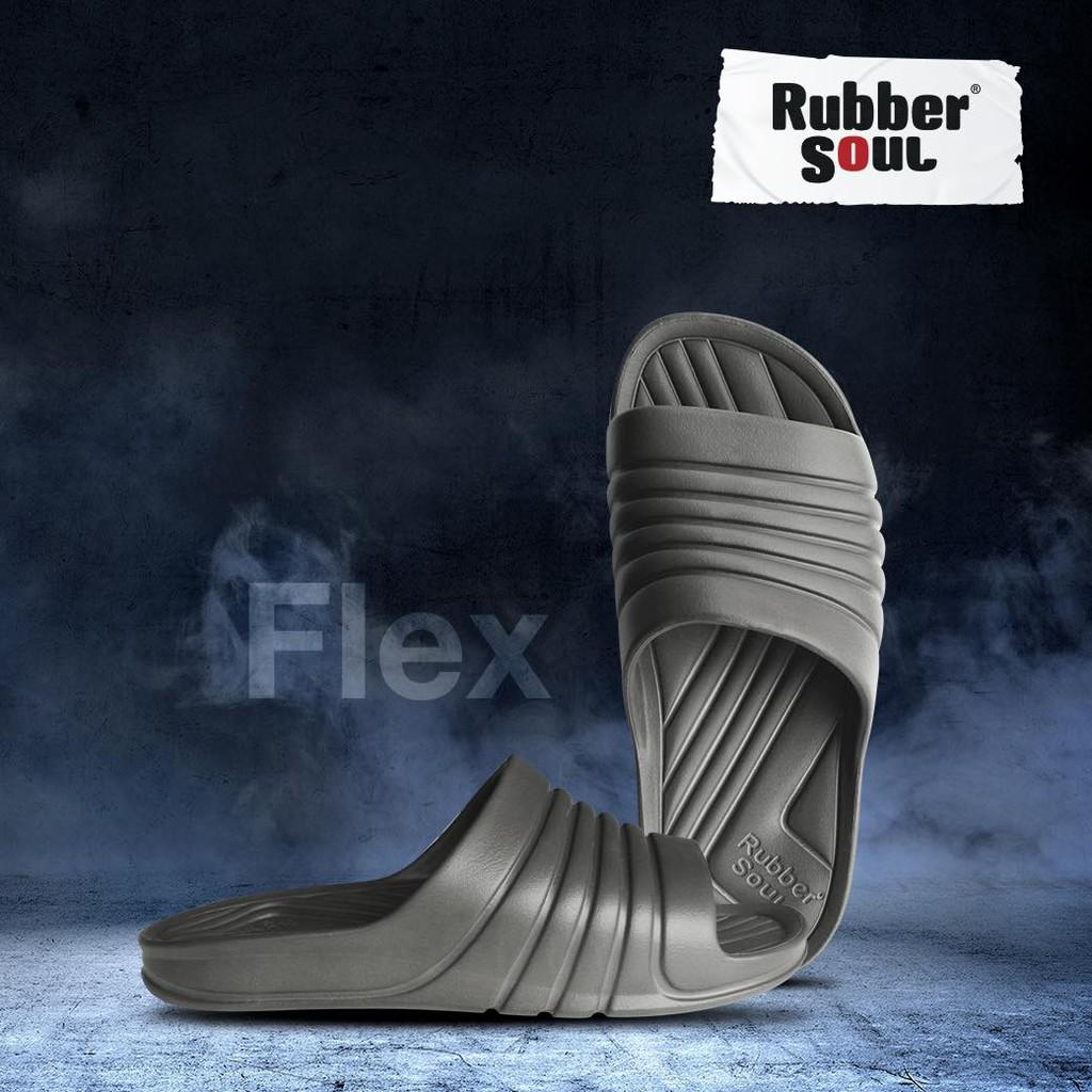 Dép nam đúc nguyên khối cao su mềm Thái Lan Rubber Soul Flex