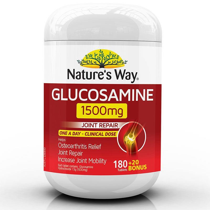 Glucosamine Nature's Way 1500mg của Úc